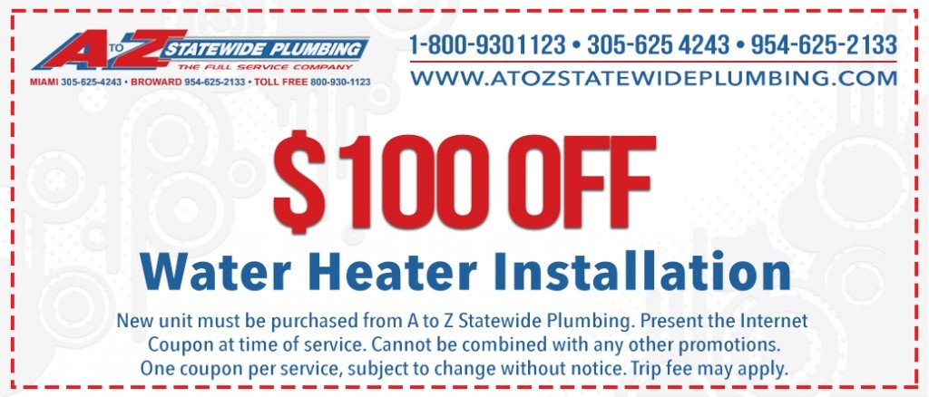 Water Heaters Miami, Hollywood, Pembroke Pines, Ft Lauderdale