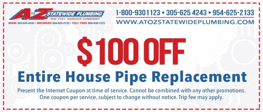 Leak detection service coupon