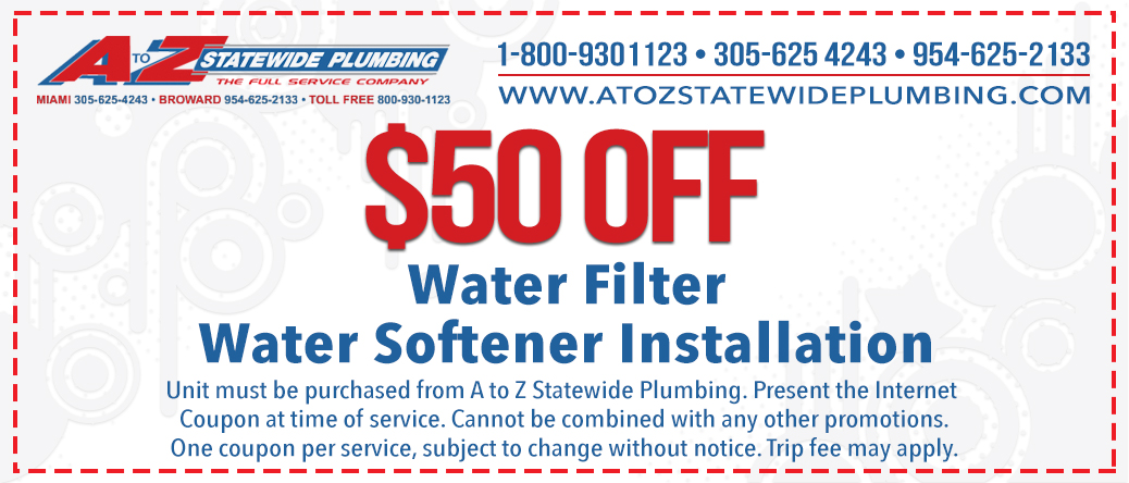 Coupon $50 Off Water Filter
