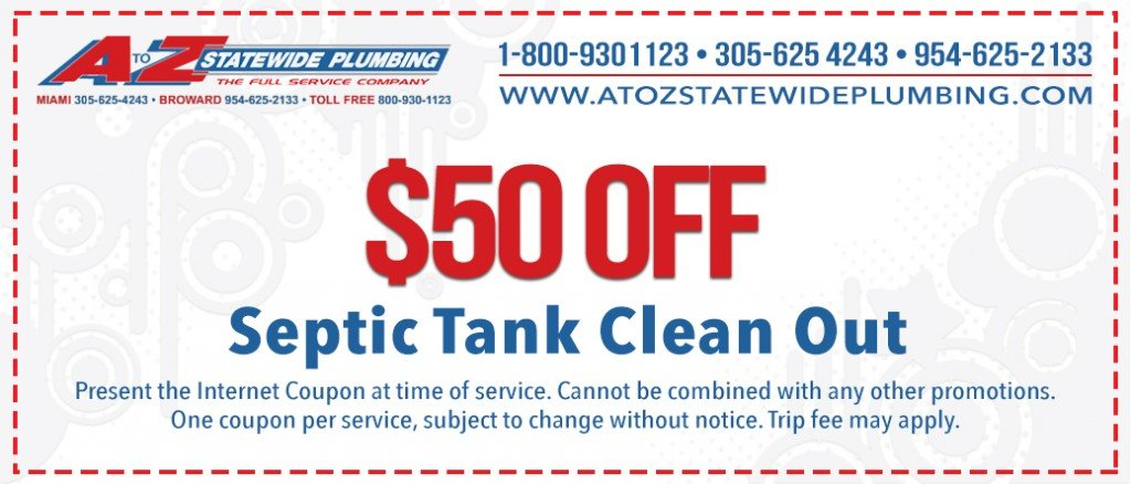 $50 Off Septic Tank Clean Out