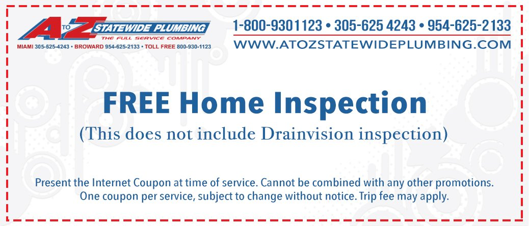 Free Home Inspection Coupon