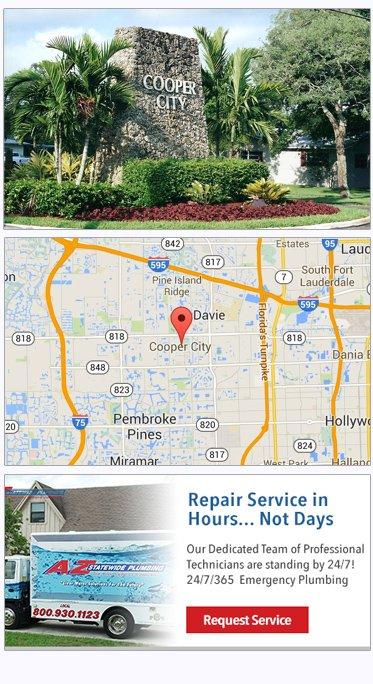 Cooper City Plumbers | Plumbing Company Cooper City Florida
