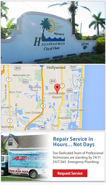 Hallandale Plumbing, Emergency Plumbing Company, Hallandale Beach Plumber