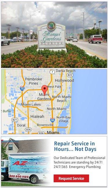 Miami Gardens FL Plumbing Service