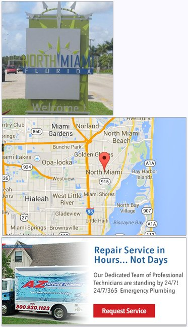 Plumbing, Plumber service in North Miami FL