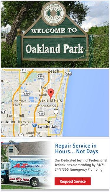 Plumbing Service, Plumbers in Oakland Park FL