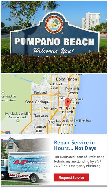 Plumbers in Pompano Beach FL