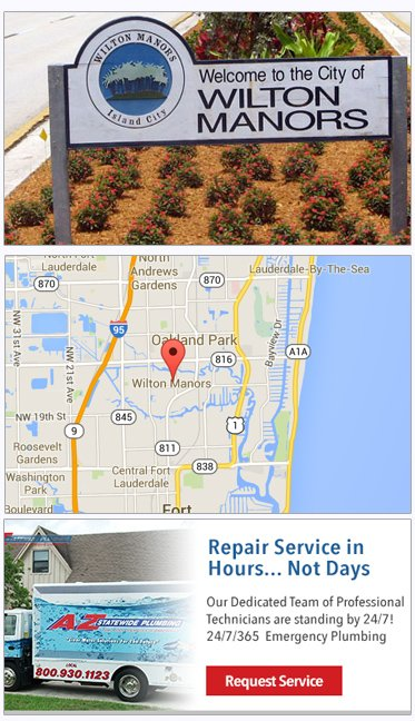 Wilton Manors plumbers, plumbing service in Wilton Manors FLorida