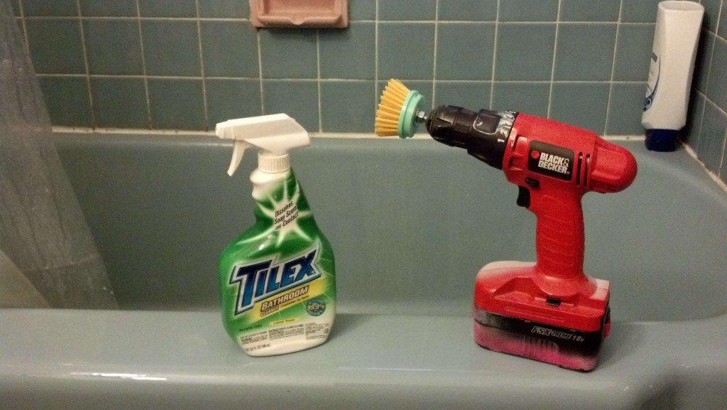 Drill Scrub