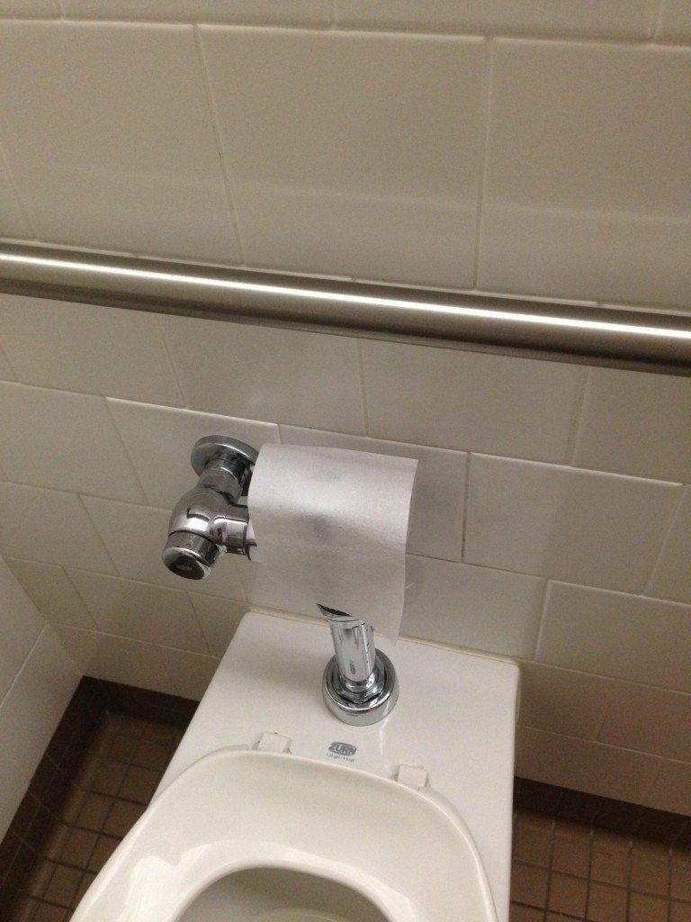 15 diy bathroom hacks to make your experience less crappy for Bathroom decor hacks