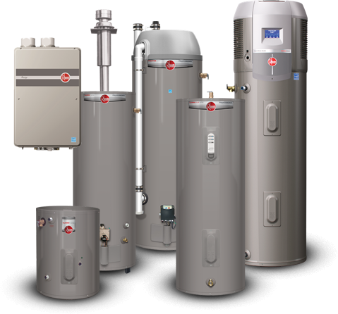 water heaters technology and options