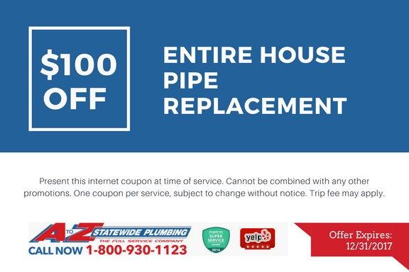 Entire house pipe replacement Miami Ft Lauderdale Hollywood