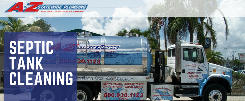 Septic Tank Cleaning For Florida Homes A To Z Statewide Plumbing