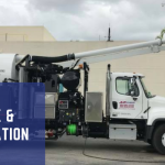 Commercial Vacuum Truck Hydro Excavation Soft Digging