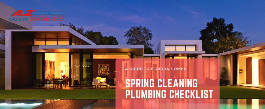 Spring Cleaning Plumbing Checklist