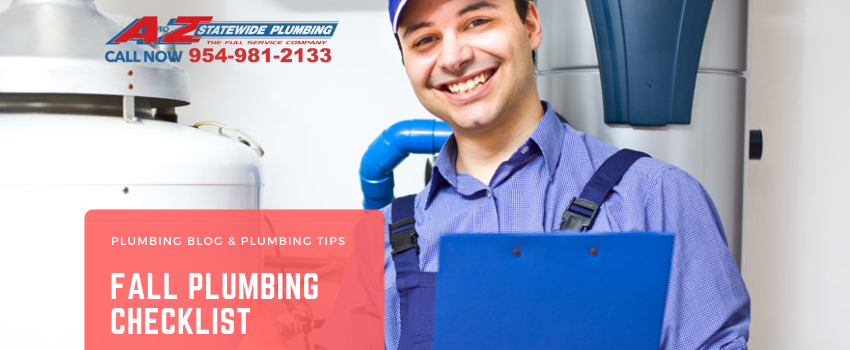 Fall plumbing checklist | Miami plumber