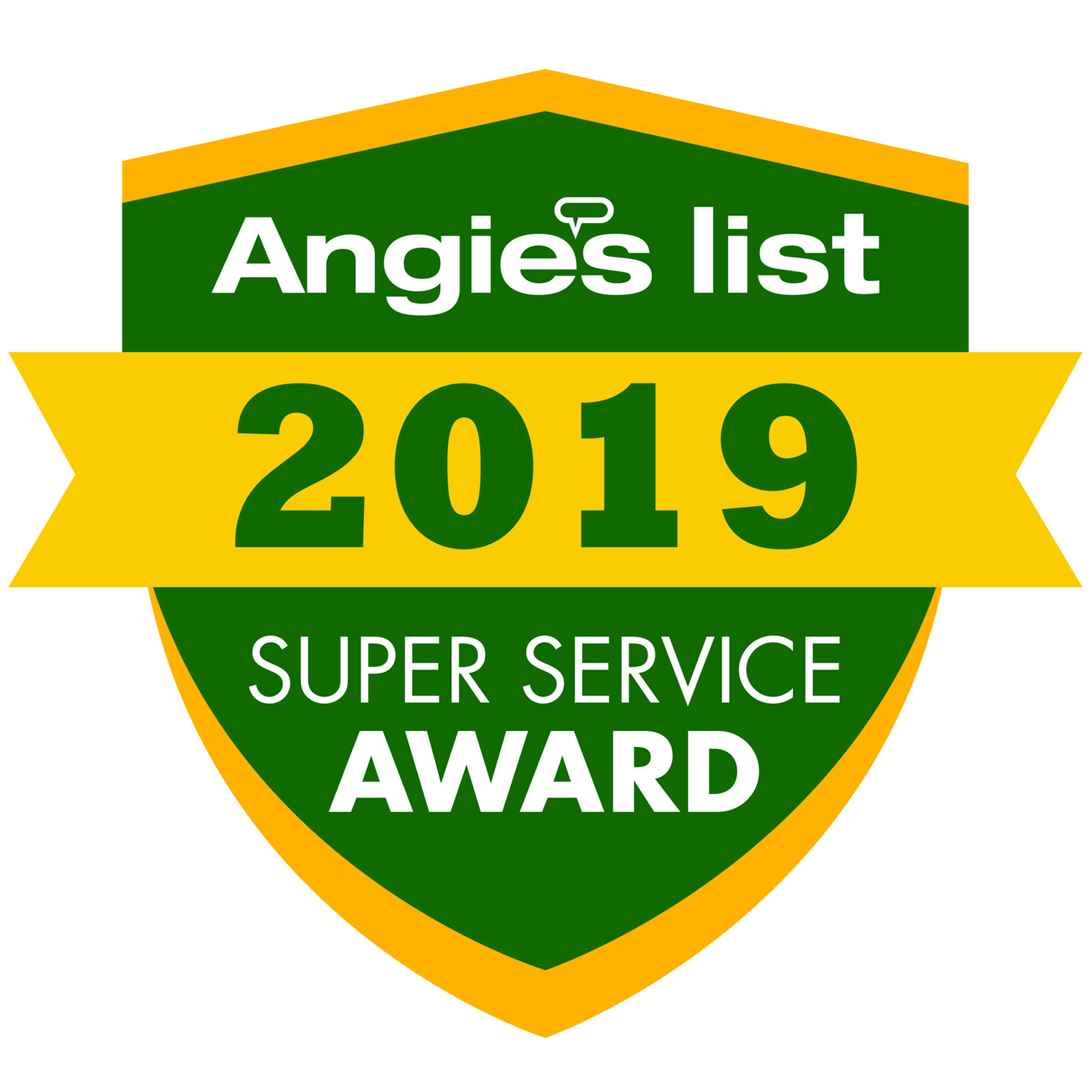 Angie's List 2019 Winner