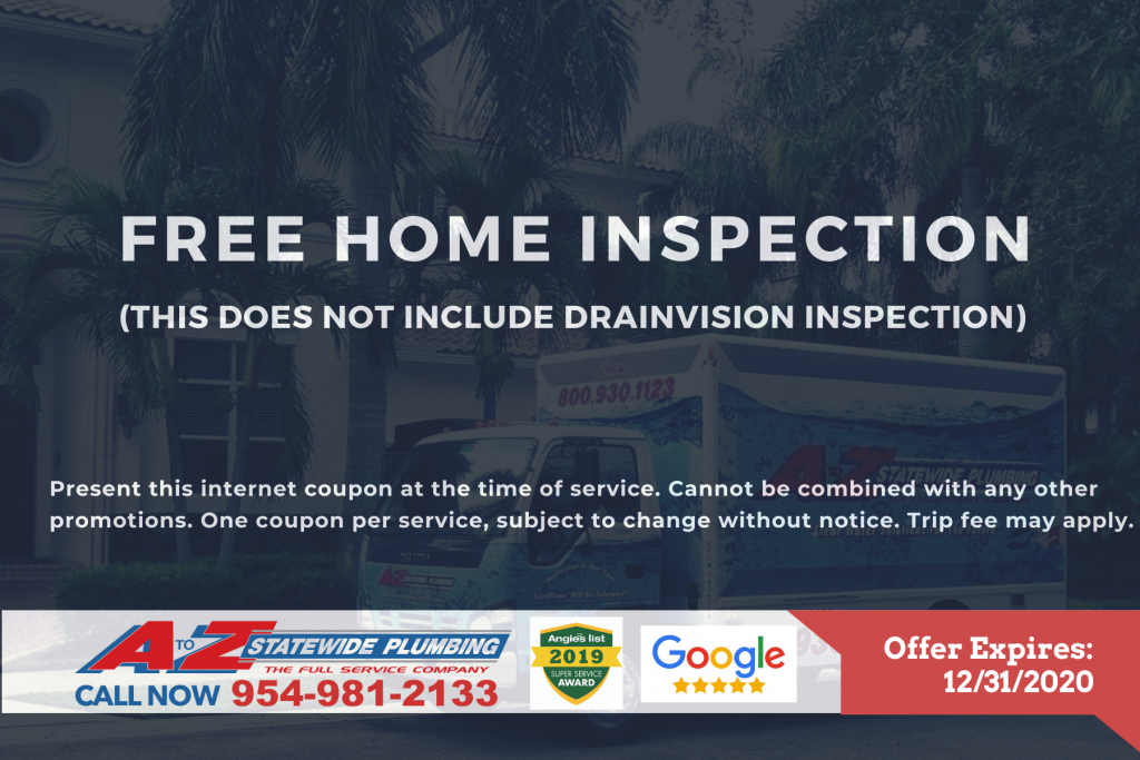 Free home inspection