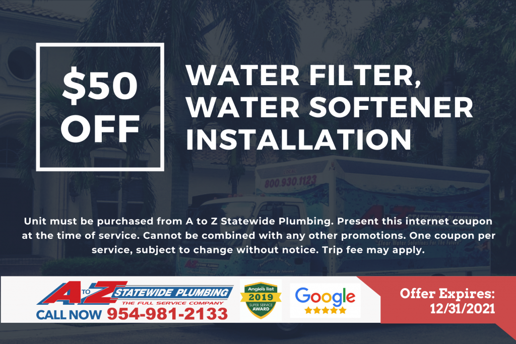Coupons - A to Z Statewide Plumbing