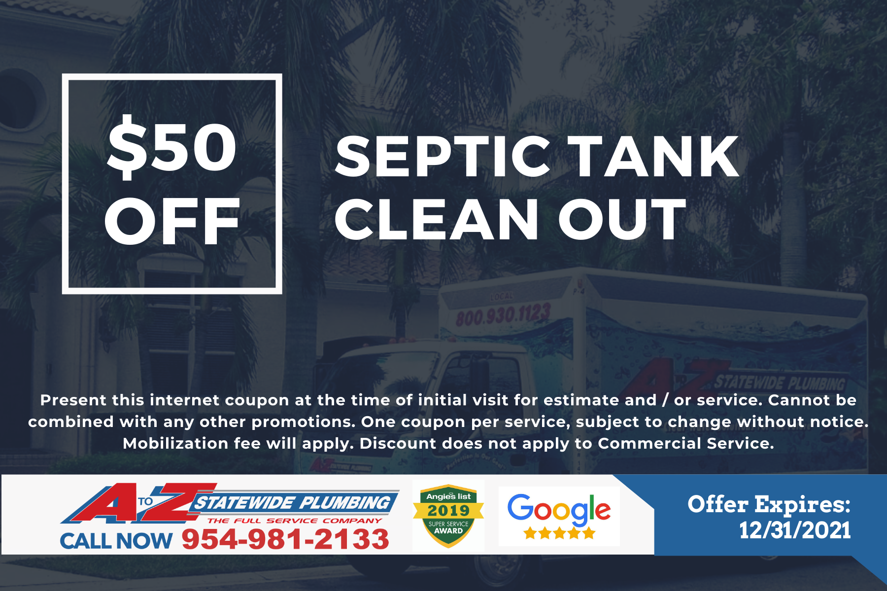 Septic tank cleanout